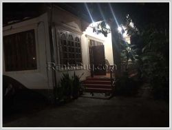 ID: 3088 - The pretty house with fully furnished for rent in Sisattanak district