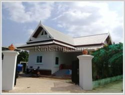 ID: 3846 - Pretty house near Suanmon Market in Sisatthanak district for rent