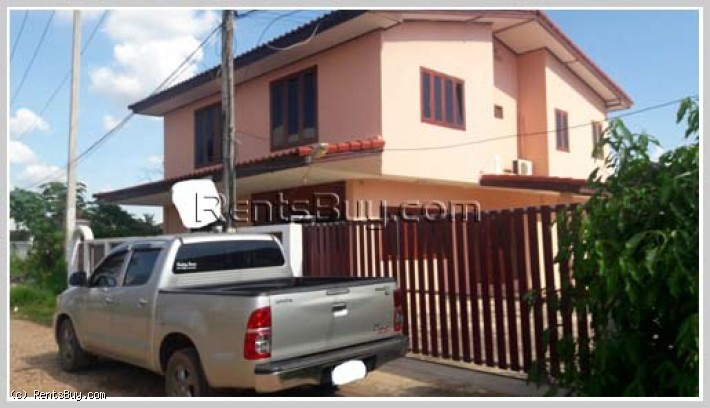 ID: 3785 - Nice house for sale next to Xangpheuk Wedding Convention Hall