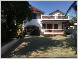 ID: 3505 - Beautiful house for sale by pave road in city near Lao National Stadium 1
