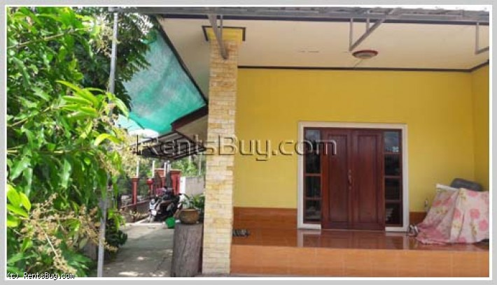 ID: 3850 - One story villa house near Salakham market for sale