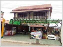 ID: 3817 - Nice shop house in town by good acess and near main road for sale in Luangprabang Provinc