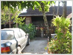 ID: 3196 - Unique Lao house from over 100 yrs old near Thatlaung Pagoda for sale