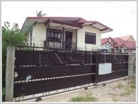 ID: 1628 - Lao wooden house in Thatluang area for sale