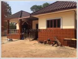 ID: 3024 - New pretty house with large garden near Huakua market for sale in Saysettha district