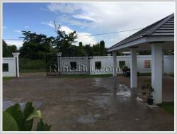 ID: 4187 - Beautiful house with large parking and near National University of Laos for sale