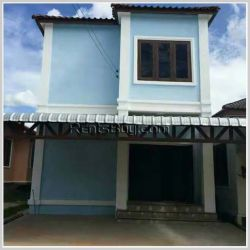 ID: 3641 - The shop house near Sanjieng market by pave road for sale