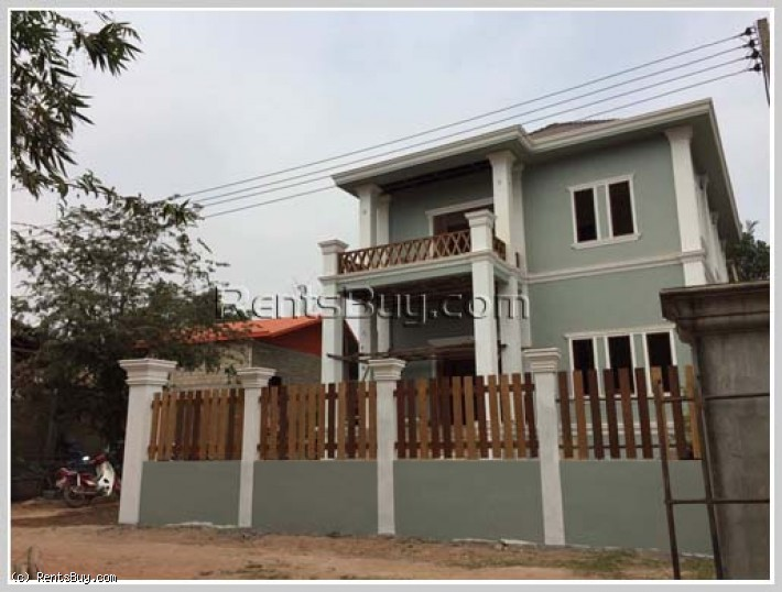 ID: 3648 - The new house by pave road for sale in Ban Thadthong about 10km from center