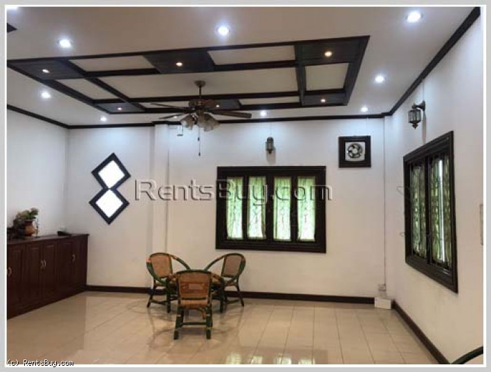 ID: 4217 - The pretty house is specially designed for sale in Ban Dongsavart