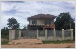 ID: 4374 - The 90% completion house for sale in Ban Phonsavat Nea, Sikhottabong District