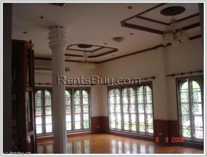 ID: 4209 - Pretty house house by concrete road in diplomatic area and fully furnished for sale