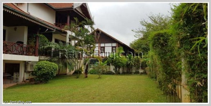 ID: 3950 - Luxury house with well established garden by Mekong for sale