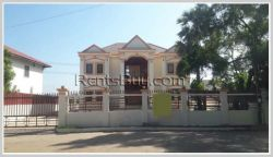 ID: 3086 - Modern house for sale in the diplomatic area, Sisattanak District.