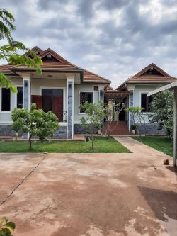 ID: 4597- Modern house with nice garden in Ban Tadthong for sale