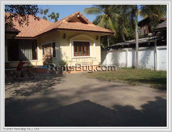 ID: 2381 - Nice house with large garden in quiet area near new US Embassy
