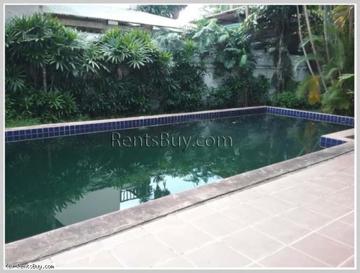 ID: 3702 - Affordable villa for family living ! House with pool for rent in diplomatic area