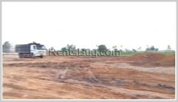 ID: 3579 - Large vacant land for rent in Sikhottabong district