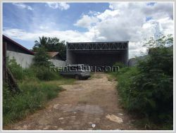 ID: 3951 - Residential Land for rent near main road in Ban Buengkayong