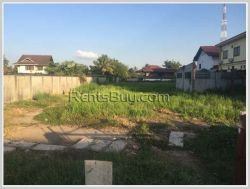 ID: 3409 - Vacant land next to concrete road in Phontong Village for sale