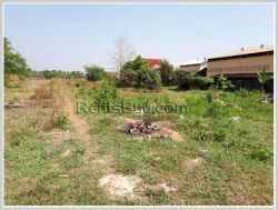 ID: 3563 - Beautiful land by pave road for sale in developed area