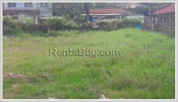 ID: 3424 - Nice vacant land for sale by concrete road near Logos college.