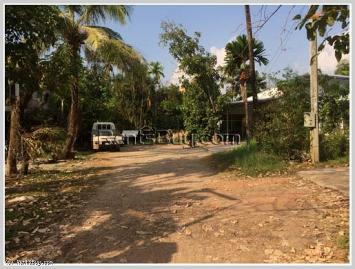 ID: 3871 - Large size land in town and near Muong Thanh Hotel for sale