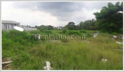 ID: 3756 - Surfaced vacant land next to Daovieng Wedding Convention Hall for sale
