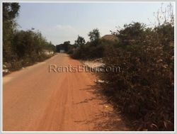 ID: 2062 - Rice field Land for sale near Khamsavart Market in Ban Khamngoy
