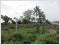 ID: 3476 - Vacant land for sale in developed area of Sikhottabong