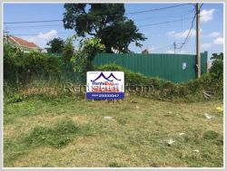 ID: 4378 - Prime area next to Mekong River for sale in Ban Sithan