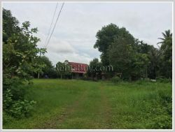 ID: 3717 - Vacant land for sale in developed area of Sikhottabong
