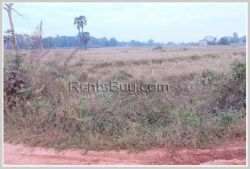 ID: 3899 - Residential land for sale Ban Samketh at the East side of Waittay International Airport