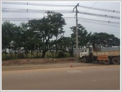 ID: 3393 - Vacant land near main road for sale in Sisattanak district