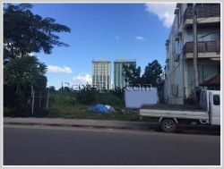 ID: 3383 - Vacant land near main road for sale in Saysettha district