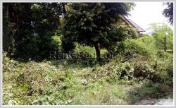 ID: 4208 - Nice vacant land for sale near Setthathirath Hospital