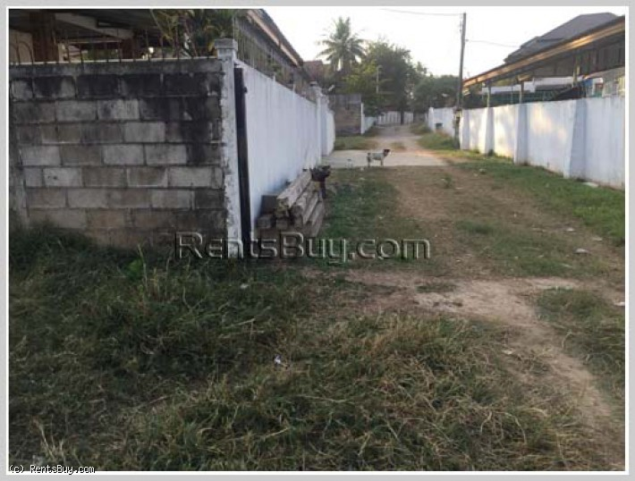 ID: 4280 - Vacant land in diplomatic area for sale in Ban Thongkang