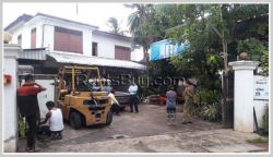 ID: 4001 - Vacant land with Lao Classic House for sale in Diplomatic Area