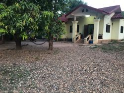 ID: 4461 - House with large land near National University of Laos for sale