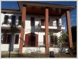 ID: 3874 - Newly built modern house near Setthathirath Hospital for rent