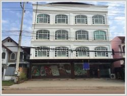ID: 3346 - Commercial building inb business area for rent in Saysettha district