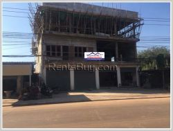 ID: 3900 - New shop house near main road for rent in Ban Huayhong Village