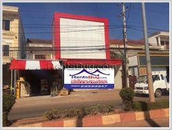 ID: 3904 - Nice shop house near Soutsaka College of Management and Technology for rent