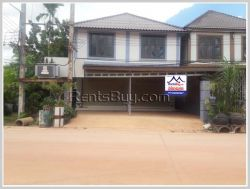 ID: 4079 - Shop house near National University of Laos by pave road for rent