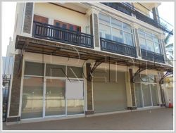 ID: 2900 - Shop house for rent with main road in Sisattanak district