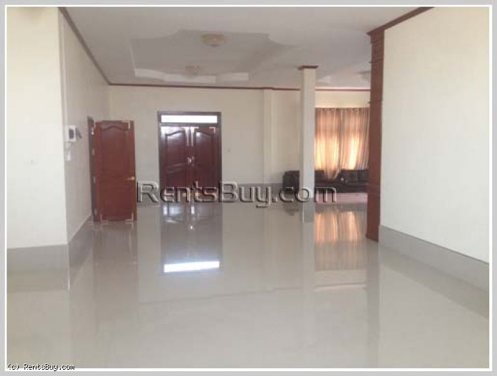 ID: 3875 - Nice shop house near main road and near National University of Laos for rent