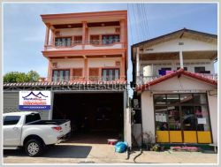 ID: 4251 - Nice shop house by pave road for rent in Chanthabouly