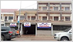 ID: 4016 - The shop house in town near Dondeng Inter golf for rent