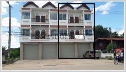 ID: 3797 - New shop house near Market of Dongkhamxang for rent