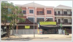ID: 932 - Nice shop house next to Kamphaengmeuang Road for rent