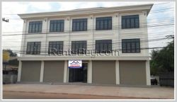 ID: 3894 - Nice shop house near main road and close to National University of Laos for rent